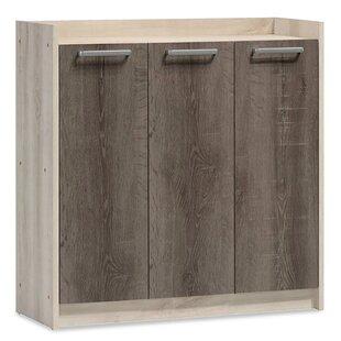 Sagamore 14 Pair Shoe Storage Cabinet By Mercury Row
