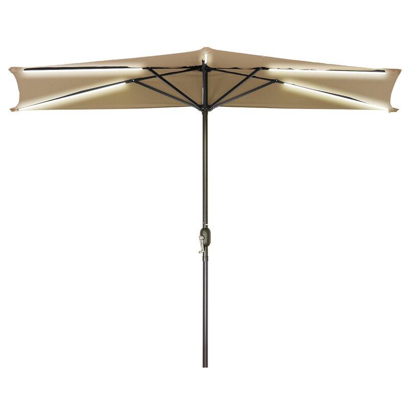Trademark Innovations 9 Lighted Umbrella