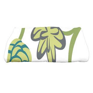 Tropical Floral Bath Towel