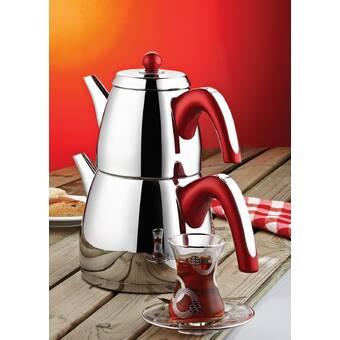 Ebern Designs Chalfant Acelya Mega Stovetop Safe Teapot Wayfair
