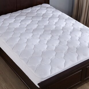 Emmeline Top Down-Alternative Polyester Mattress Pad by Alwyn Home Best Choices