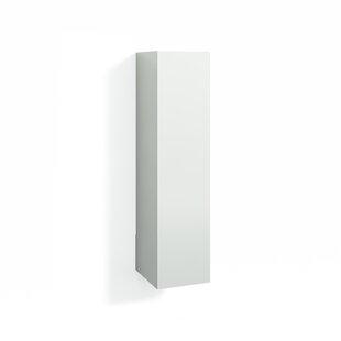Quiroz 30 X 123cm Wall Mounted Tall Bathroom Cabinet By Ebern Designs
