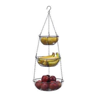 Galvanized Fruit Basket Wayfair