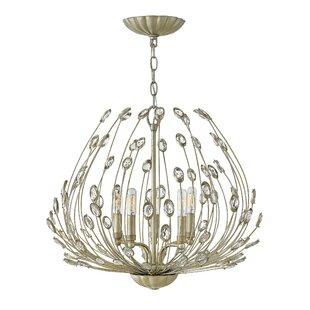 Tulah 5 Light Crystal Chandelier by Hinkley Lighting
