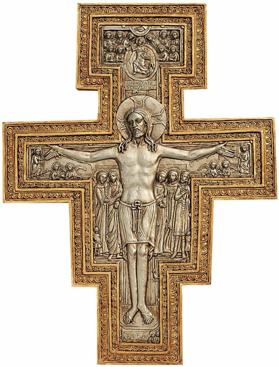 Design Toscano San Damiano Sculptural