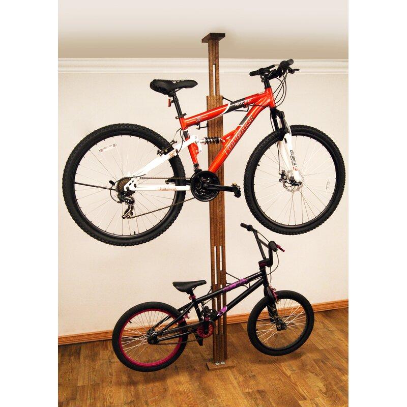 Wfx Utility 2 Bike Floor To Ceiling Mounted Bike Rack Reviews