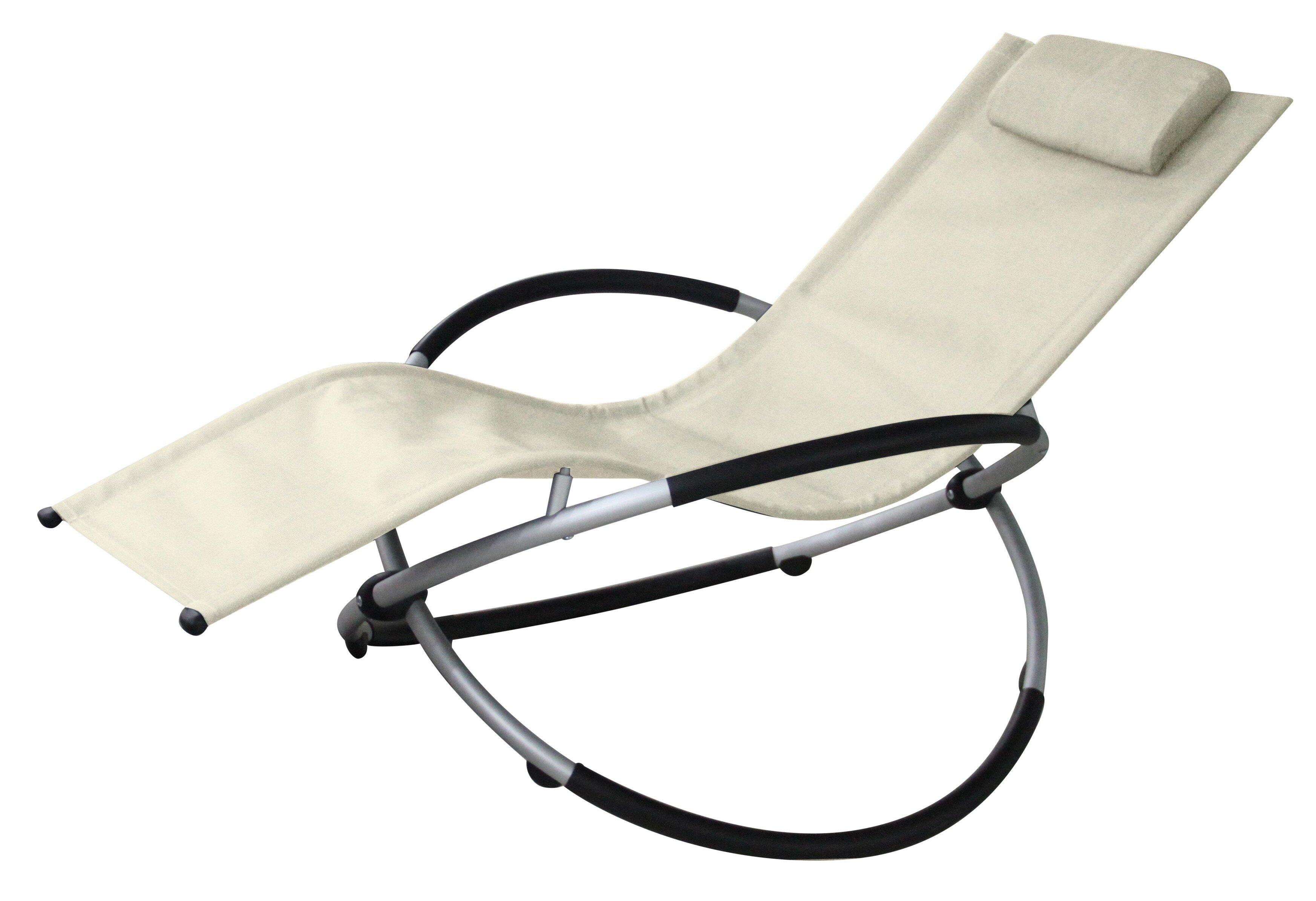 Charmant Red Vanilla Vanilla Outdoor Rocking Lounge Chair U0026 Reviews | Wayfair