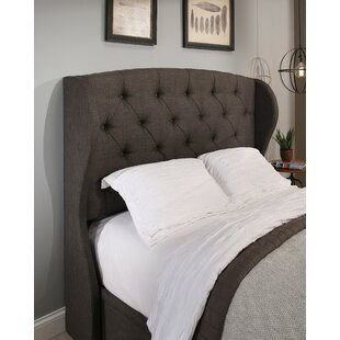 Price comparison Sornson Upholstered Wingback Headboard by Darby Home Co