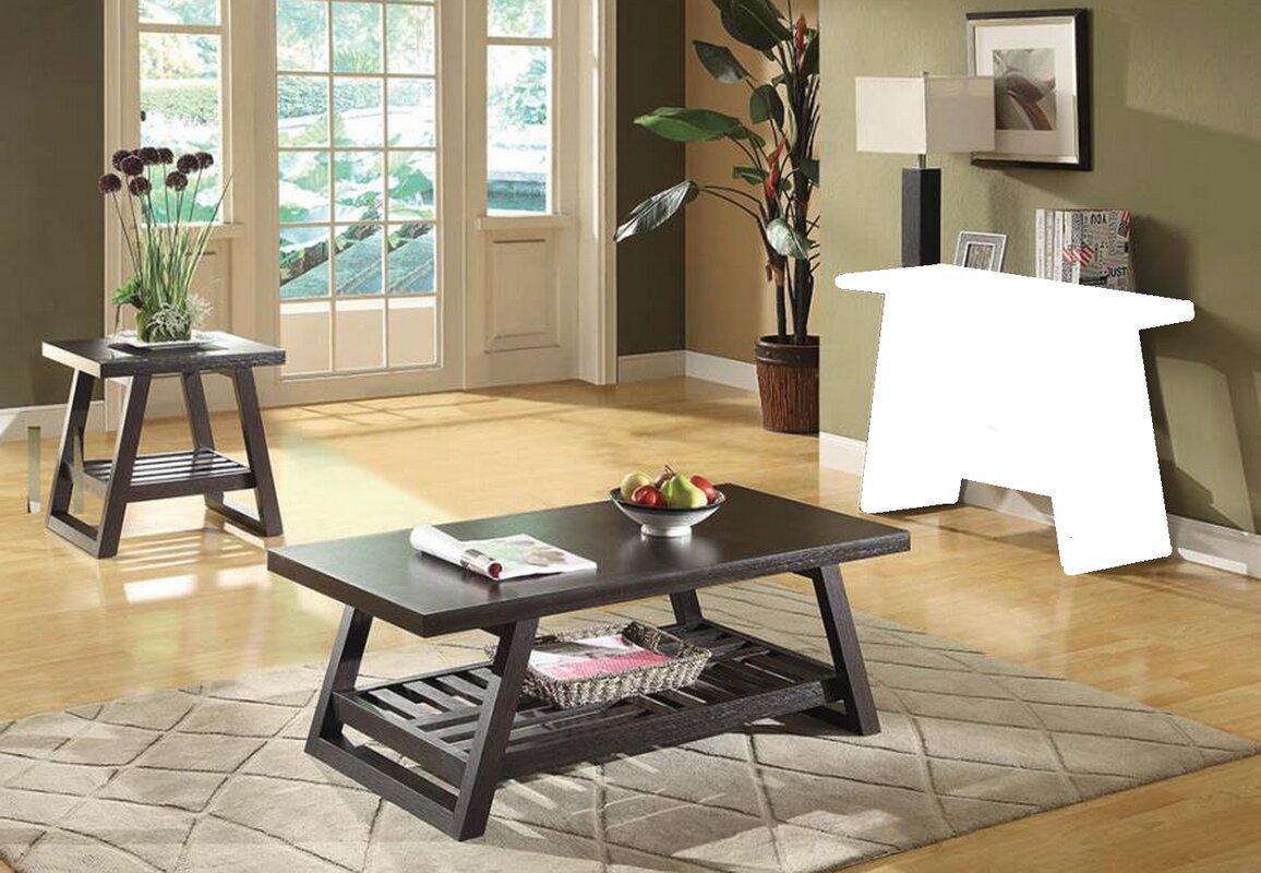 Gracie Oaks Tocco 2 Piece Coffee Table Set