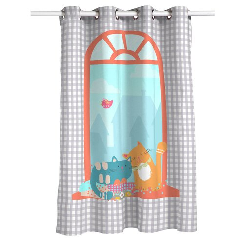 Woodson Eyelet Semi Sheer Thermal Curtain Isabelle and Max