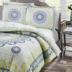 Hydes 100% Cotton Reversible Comforter Set
