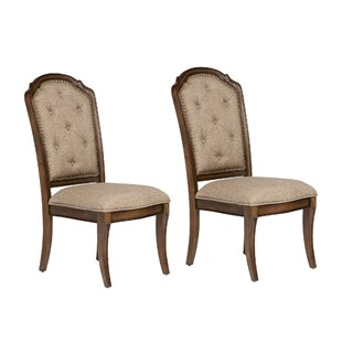 Devaney Side Chair (Set of 2) Fleur De Lis Living
