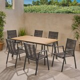 Carolina Outdoor 7 Piece Dining Set