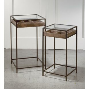 Kaylah 2 Piece Nesting Tables 17 Stories