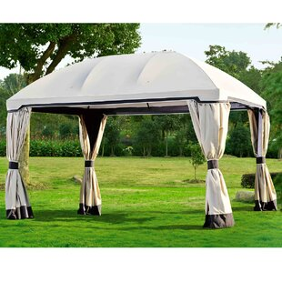 Replacement Canopy for 10' W x 13' D Pomeroy Domed Top Gazebo by Sunjoy
