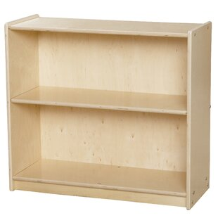 Contender Adjustable Shelf Standard Bookcase by Wood Designs