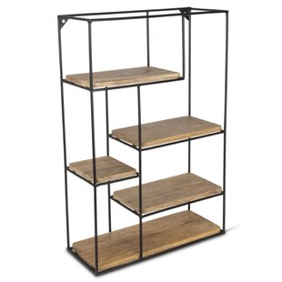 Deboer Multi-Tier Standard Bookcase by Gracie Oaks Cheap