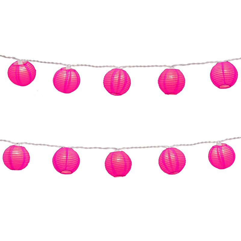 Pink Porch Accents - lighting