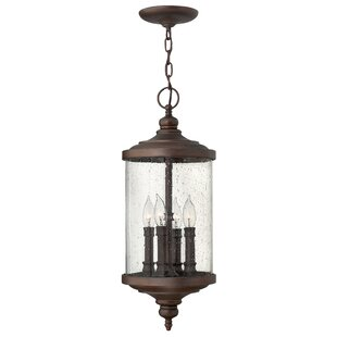 Hinkley Lighting Barrington 4-Light Outdoor Hanging Lantern