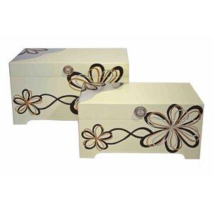 2-tlg. Box-Set Modern Flower von House Additions