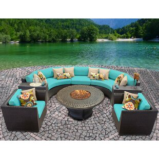 Medley 8 Piece Sectional Seating Group with Cushions