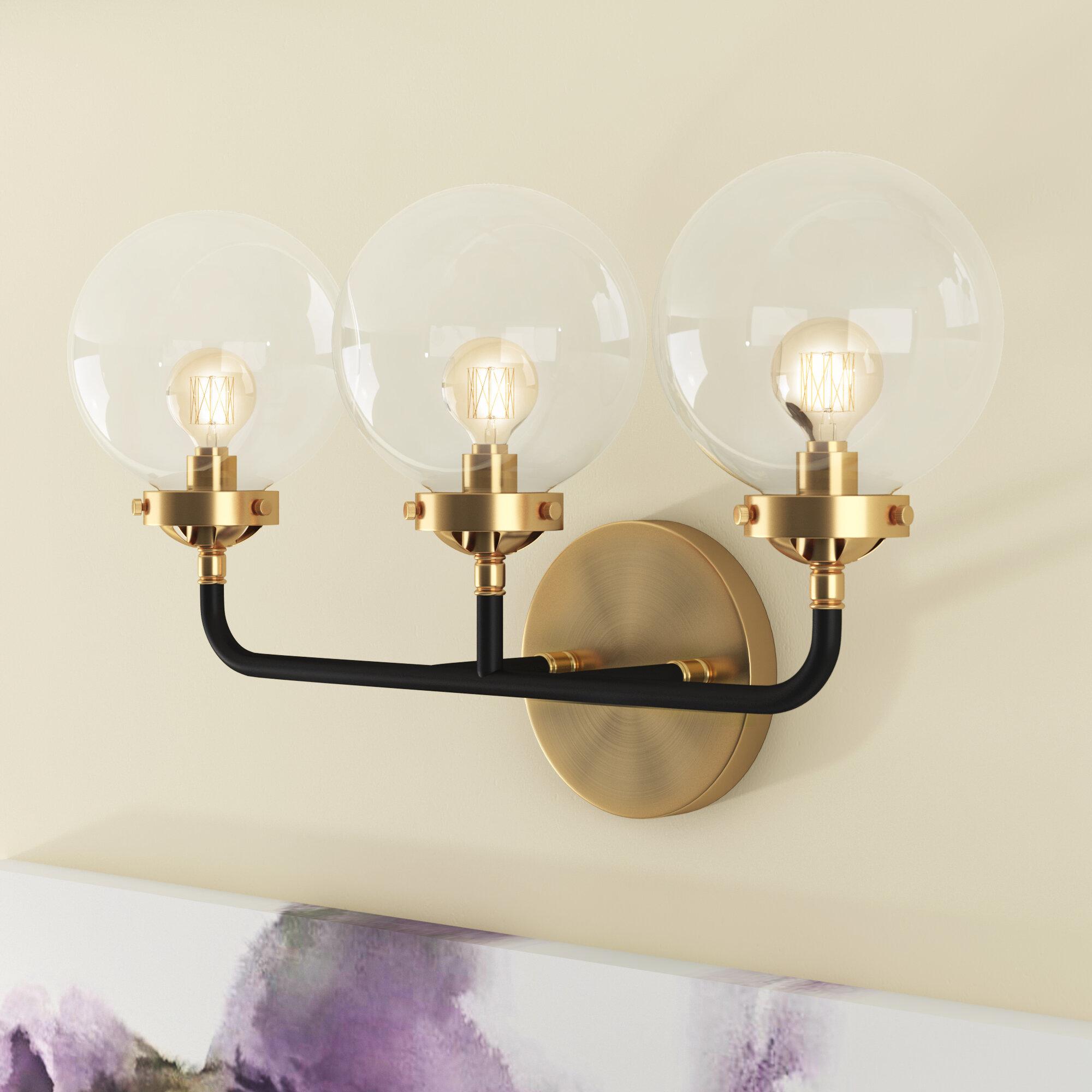 Gold Bathroom Vanity Lighting You Ll