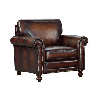Bach Top Grain Italian Leather Club Chair
