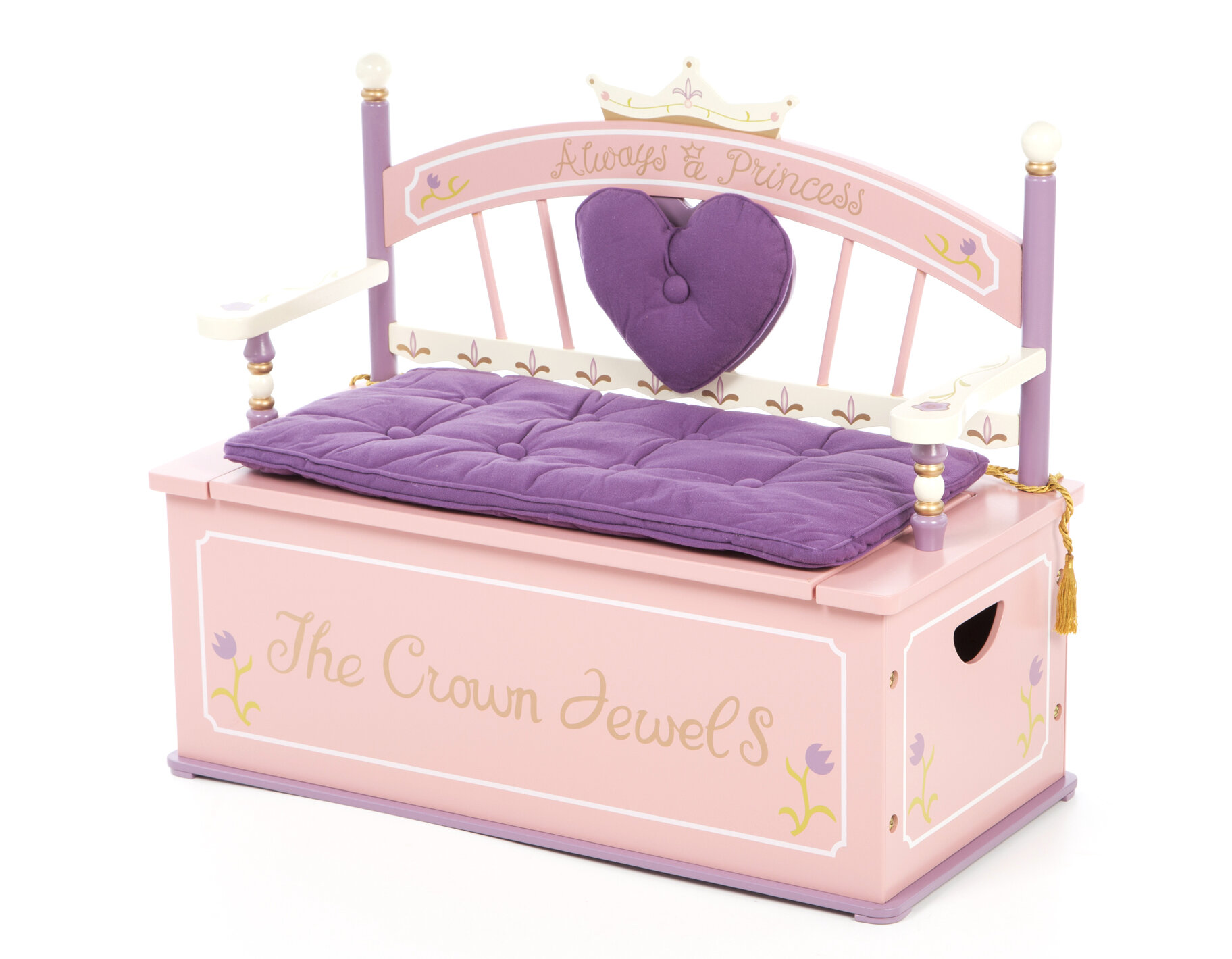 Wildkin Princess Wildkin Kids Bench Reviews Wayfair