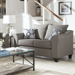 Hegarty Loveseat by Alcott Hill