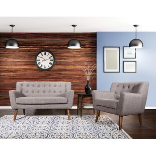 Find Demartino 2 Piece Living Room Set by George Oliver Reviews (2019) & Buyer's Guide