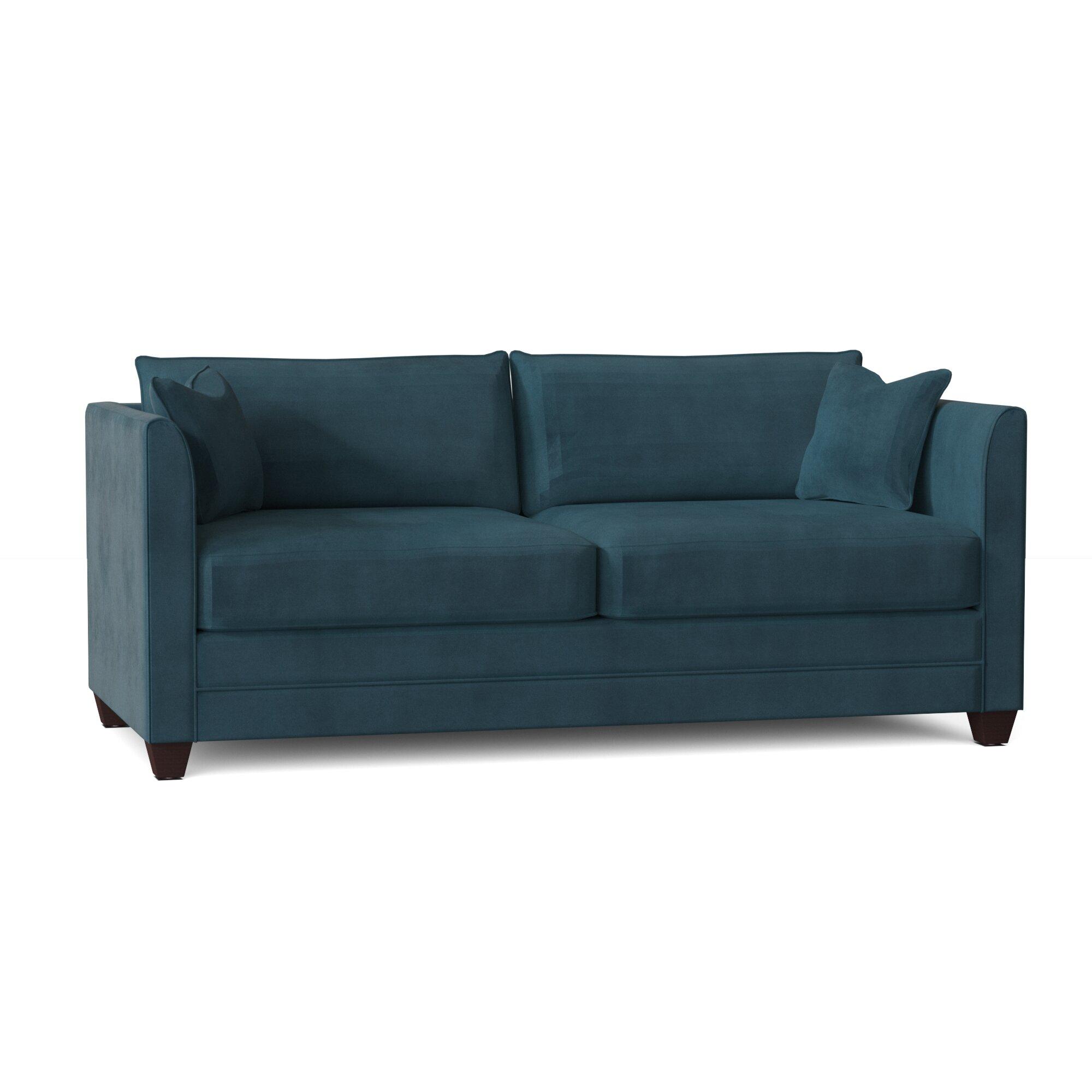 Sarah 77 Square Arm Sofa Bed Reviews Joss Main