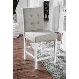 Bowerman Tufted Upholstered Side Chair in Light Gray (Set of 2) by Red Barrel Studio®