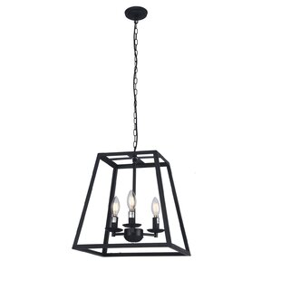 Lucienne 3-Light Lantern Chandelier by An..
