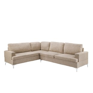 Orren Ellis Batiste L-Shape Sectional
