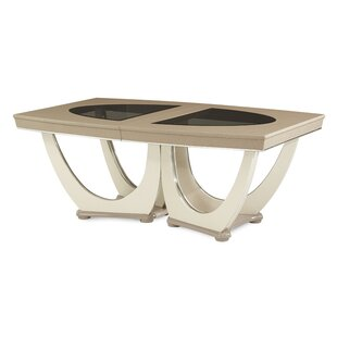 Overture Extendable Dining Table Michael Amini