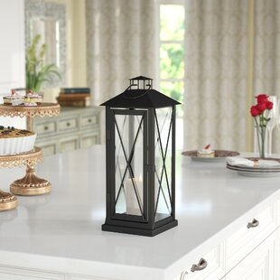 Iron Lantern by Darby Home Co