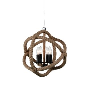 Catharine 4-Light Globe Chandelier