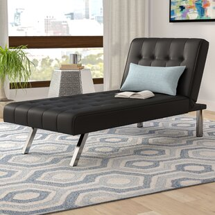 Wade Logan Metzger Convertible Chaise Lounge