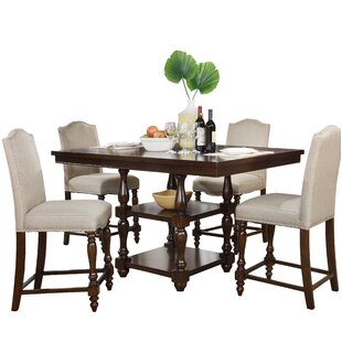 Darby Home Co Foster 5 Piece Dining Set