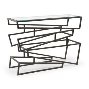 Zigzag Console Table by Wildwood