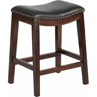 Charlton Home Jenkin 26'' Backless Bar Stool