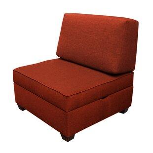 Anke Storage Slipper Chair