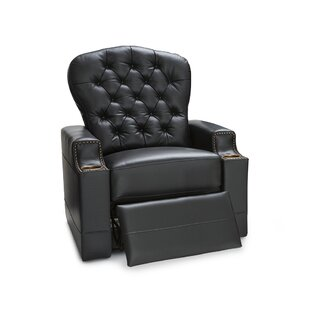 Leather Power Recliner Tuf..