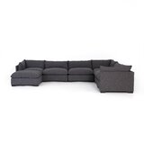 Southwold 6-Piece Sectional with Ottoman by Brayden Studio®