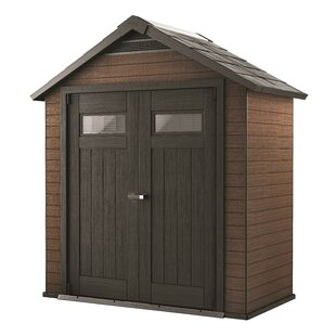 Fusion 7.5 Ft. W X 4 Ft. D Traditional Tool Shed By Keter