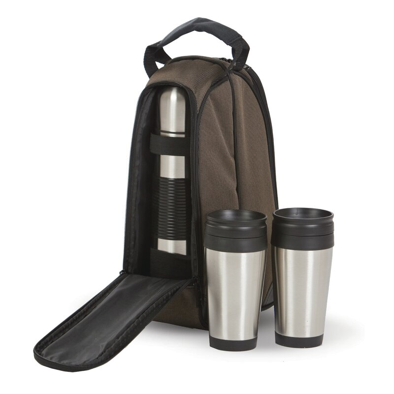 Coffee Companion Travel Mug And Thermos Bottle Set