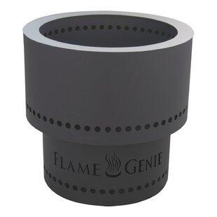 Flame Genie Steel Wood Pellet Burning Fir..