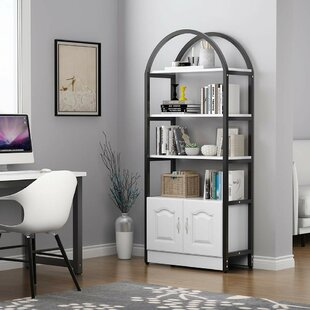 Ashworth Etagere Bookcase by Canora Grey
