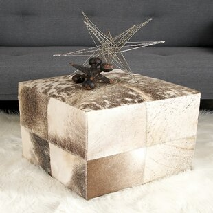 Cube Ottoman by Cole & Grey
