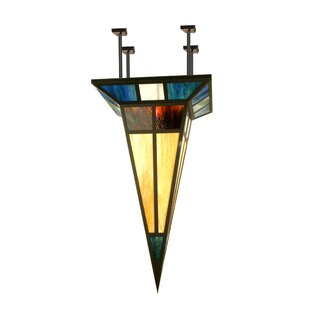 Meyda Tiffany Polaris 1-Light Semi-Flush Mount